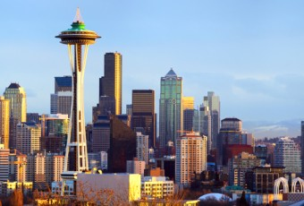 Seattle Skyline 800x360